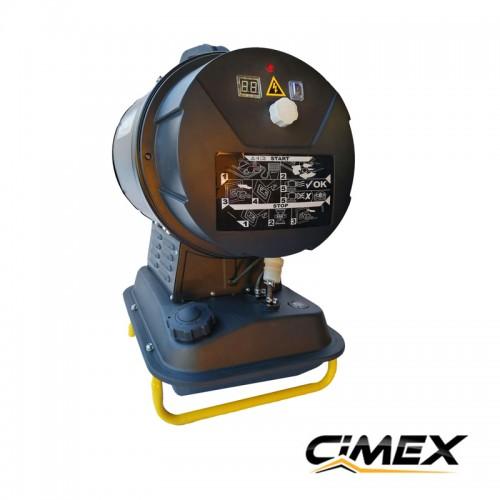 20 kW infrared diesel heater CIMEX D20iR