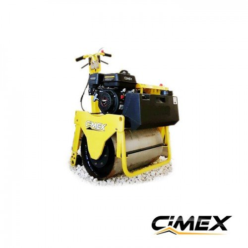 Single drum pedestrian vibrating roller 266 kg. CIMEX VR160