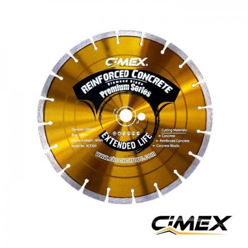 Diamond blade for concrete 300 mm CIMEX RCP300