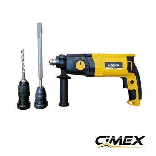 CIMEX HB3 900W ROTARY HAMMER DRILL with SDS PLUS 30mm 4 MODE