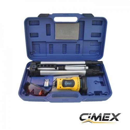 Laser level - self leveling line laser CIMEX RL10M