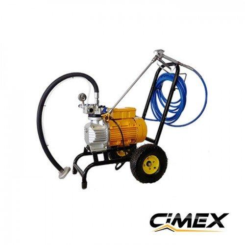 Airless painting machine with a diaphragm pump CIMEX X990