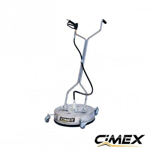 Floor inox head for pressure cleaner