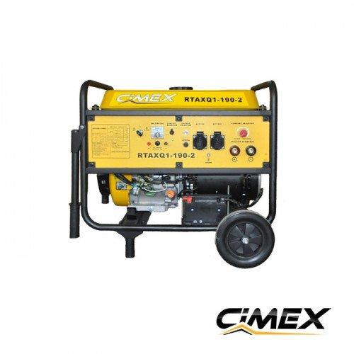 Gasoline engine welding machine CIMEX RTAXQ1